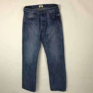 Levi's Original 501 Straight Leg Button Fly Jeans